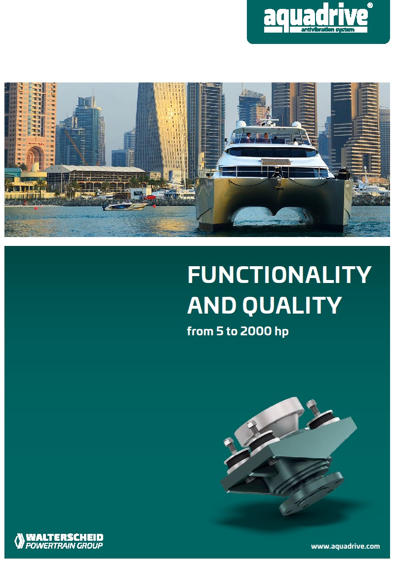 Aquadrive® Functionality and quality
