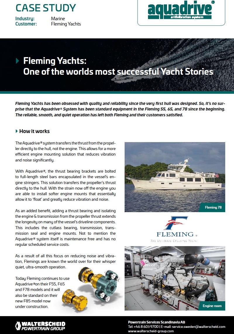 Aquadrive®Case Study Fleming 78