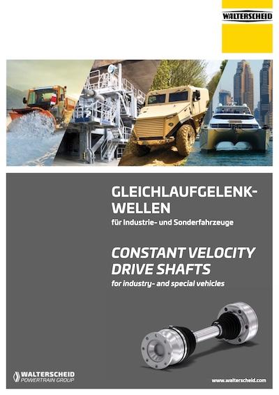 Catalogue CV drive shafts