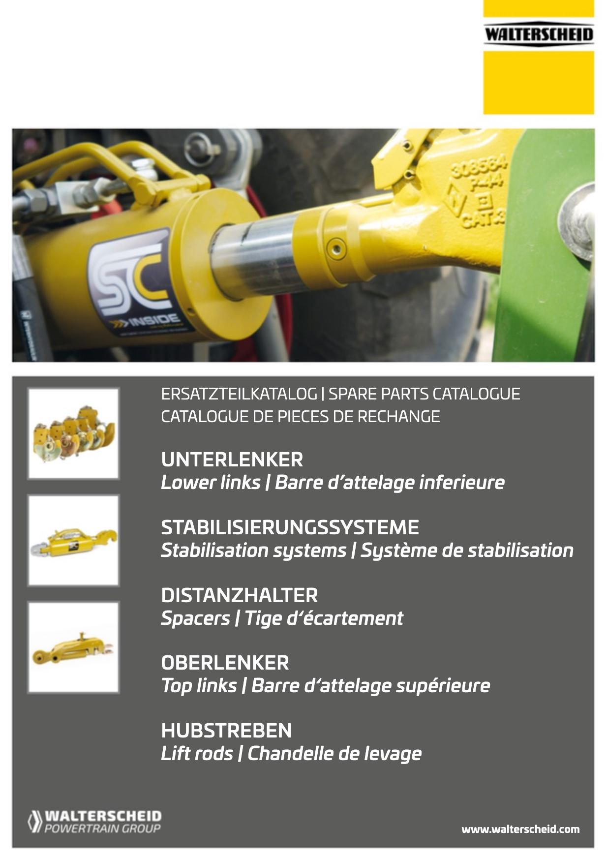 Walterscheid Catalogue TAS spare parts