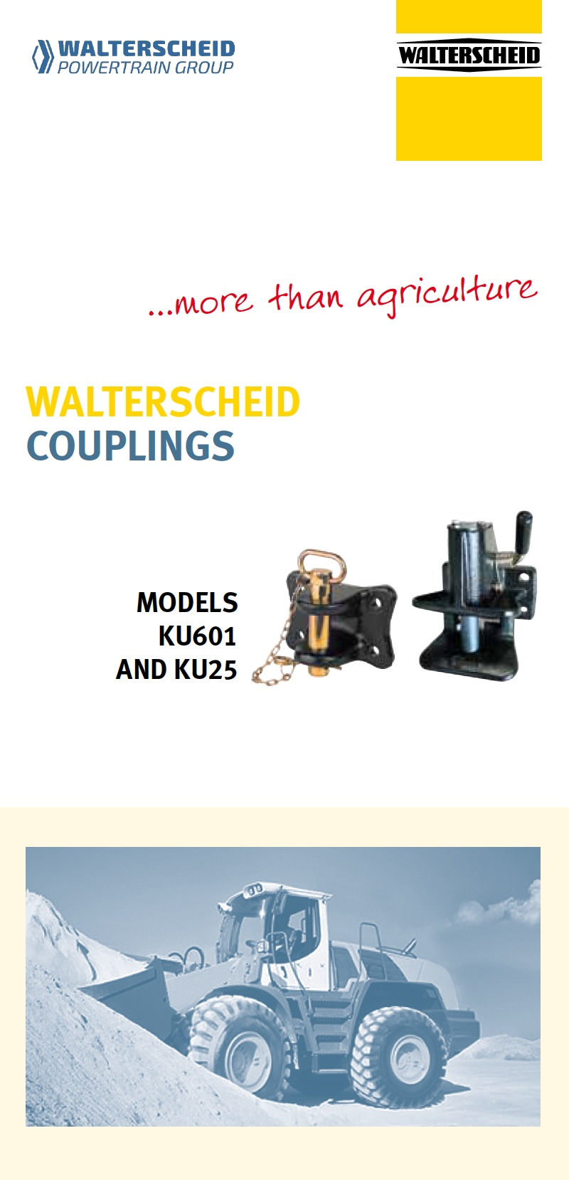 Couplings for industrial and commercial vehicles
