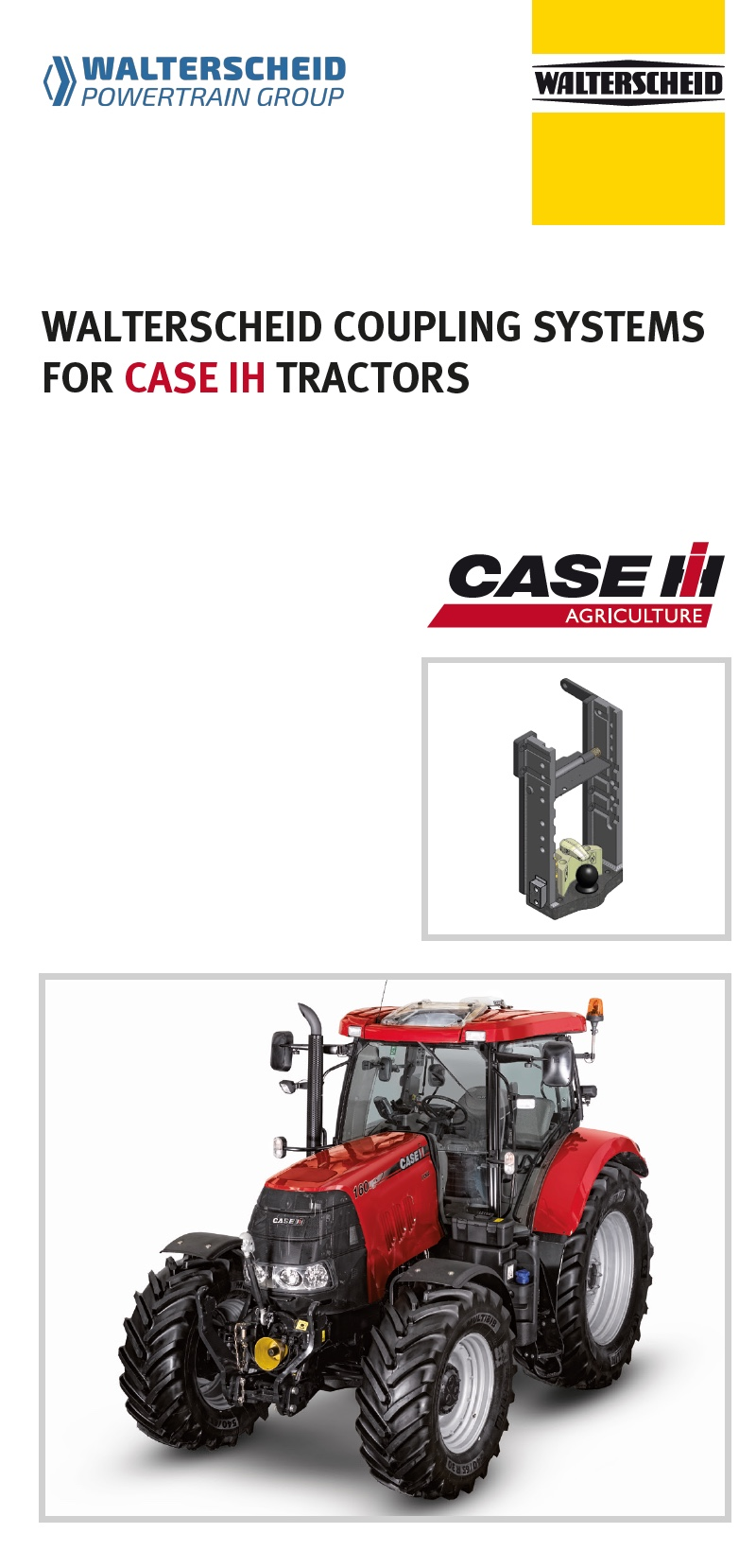 Coupling systems for CASE IH tractors