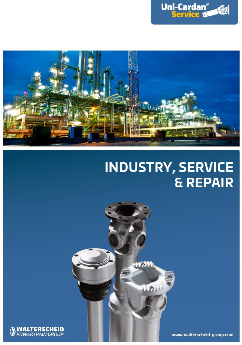 Uni-Cardan® Industry, Service and Repair