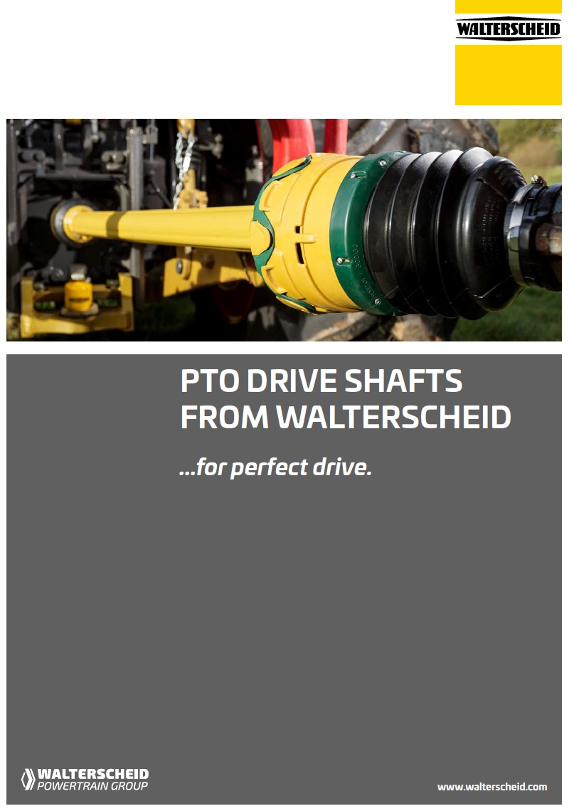 PTO Drive shafts from Walterscheid