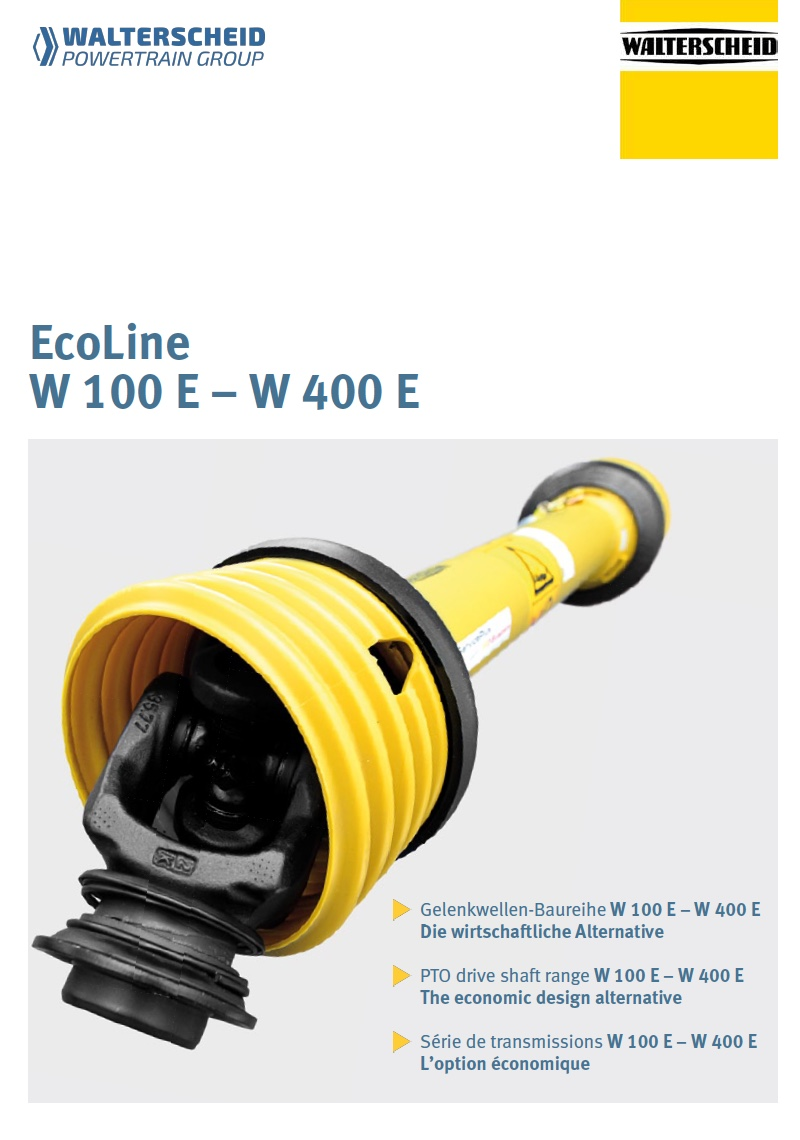 Ecoline W100E - W400E