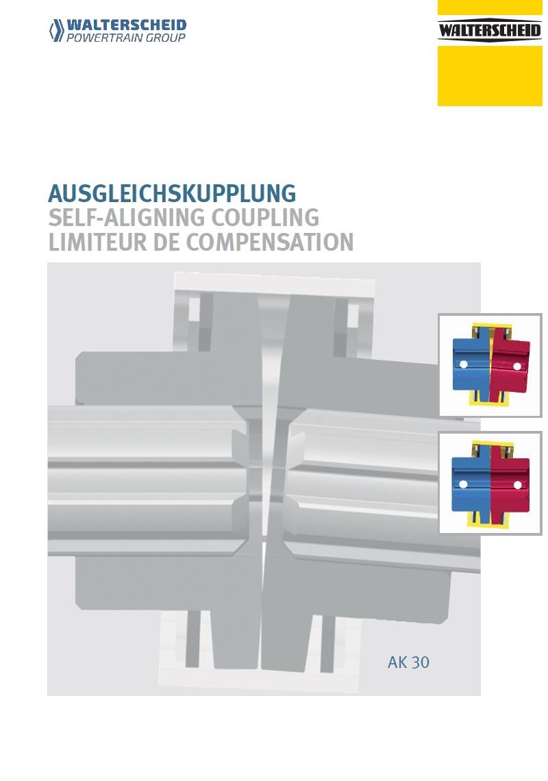 Self-aligning coupling