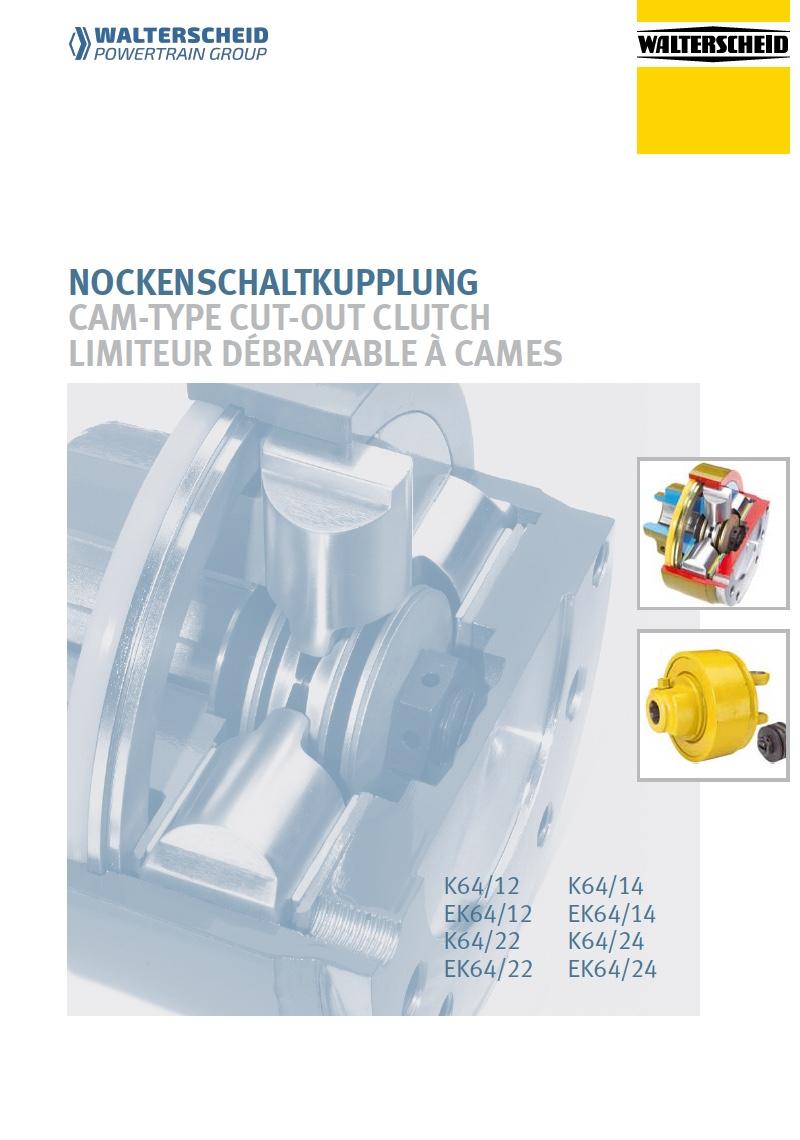 Cam-type cut-out clutch