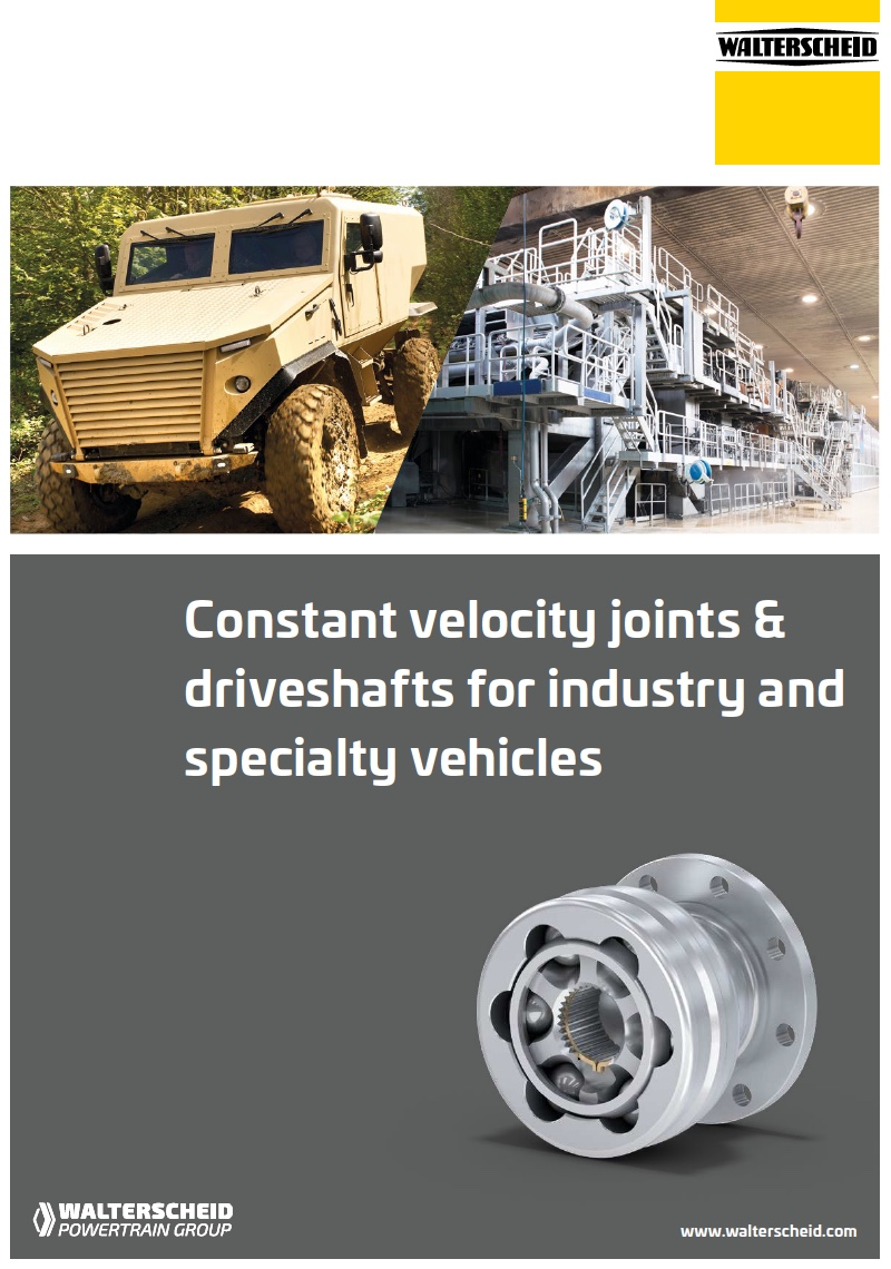 Brochure CV joints and drive shafts