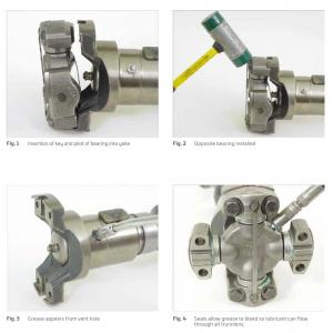 Universal Joint Installation and Lubrication